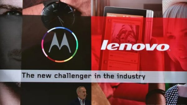 Motorola acquisition did not meet expectations 600