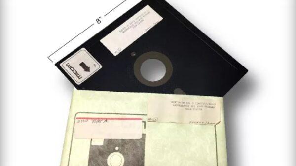 floppy disks 8 inch 600