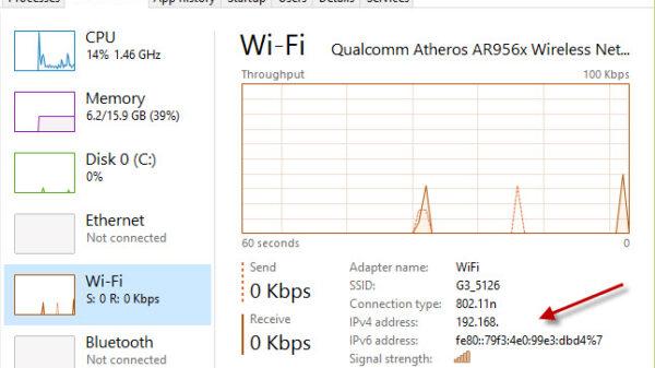 windows10 ip address 1