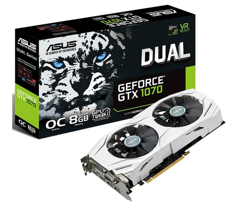 ASUS GeForce GTX 1070 DUAL 600