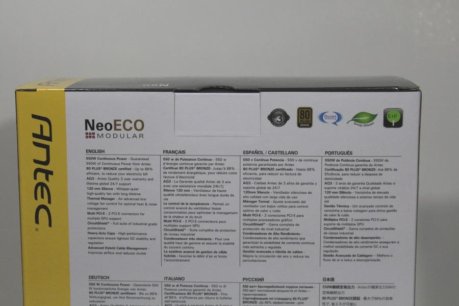 Antec NeoECO Modular 550W (3)
