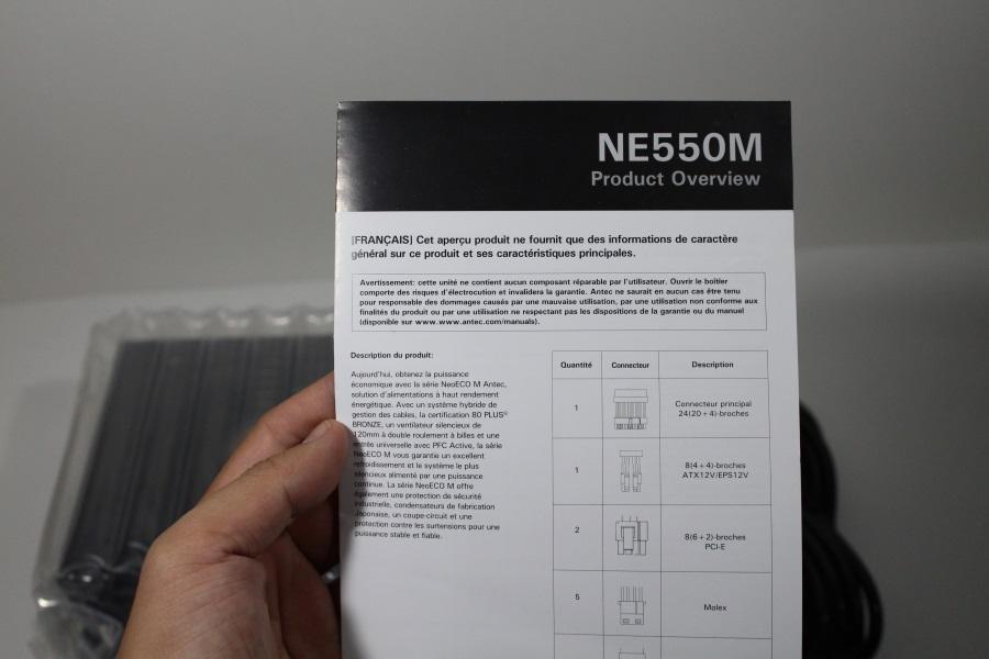 Antec NeoECO Modular 550W (7)