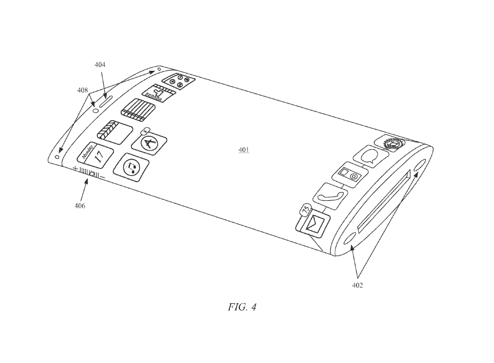 Apple patent reveals all-glass curved display 600 01