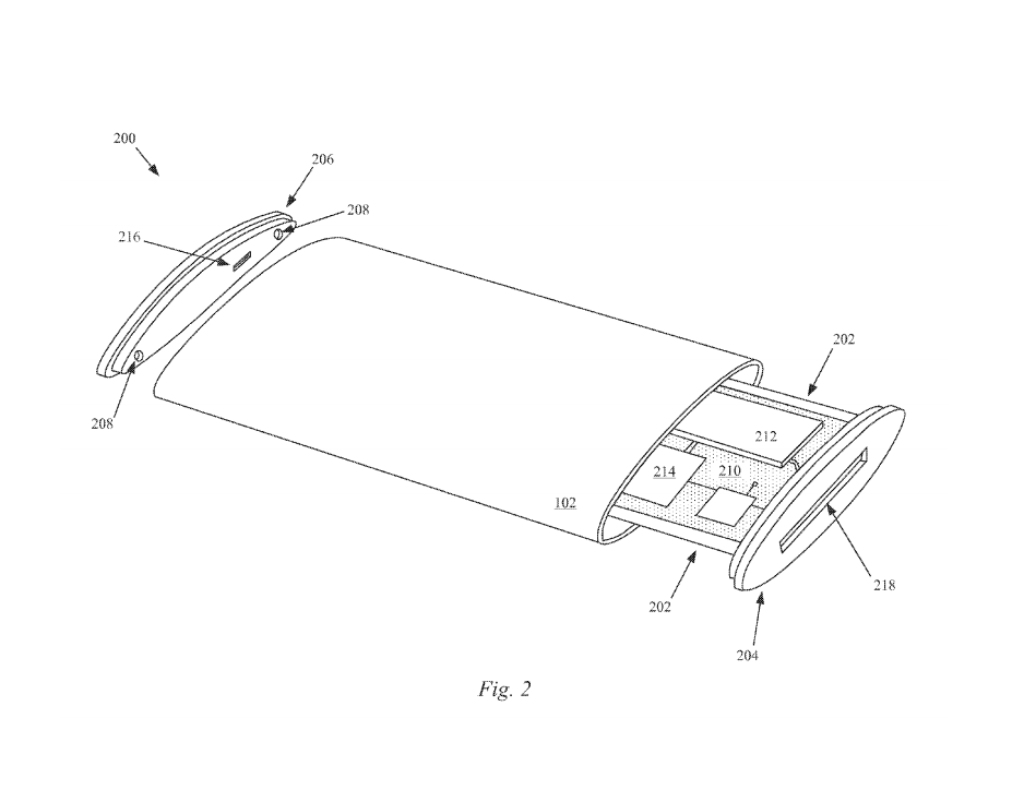 Apple patent reveals all-glass curved display 600 02