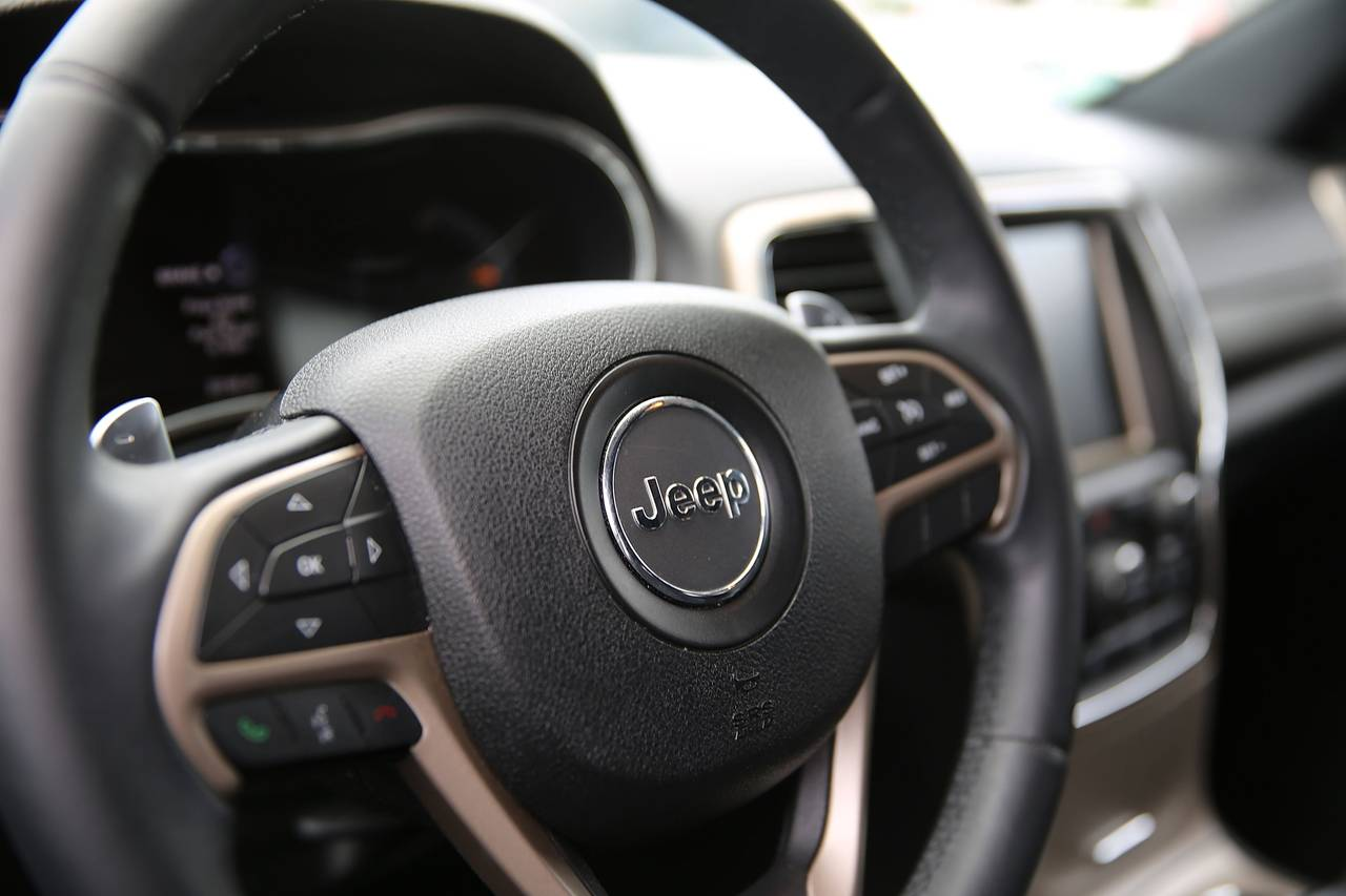 Jeep Grand Cherokee's interior 600 01