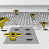 google Bee Robotics patents drones for fully automated farming 600