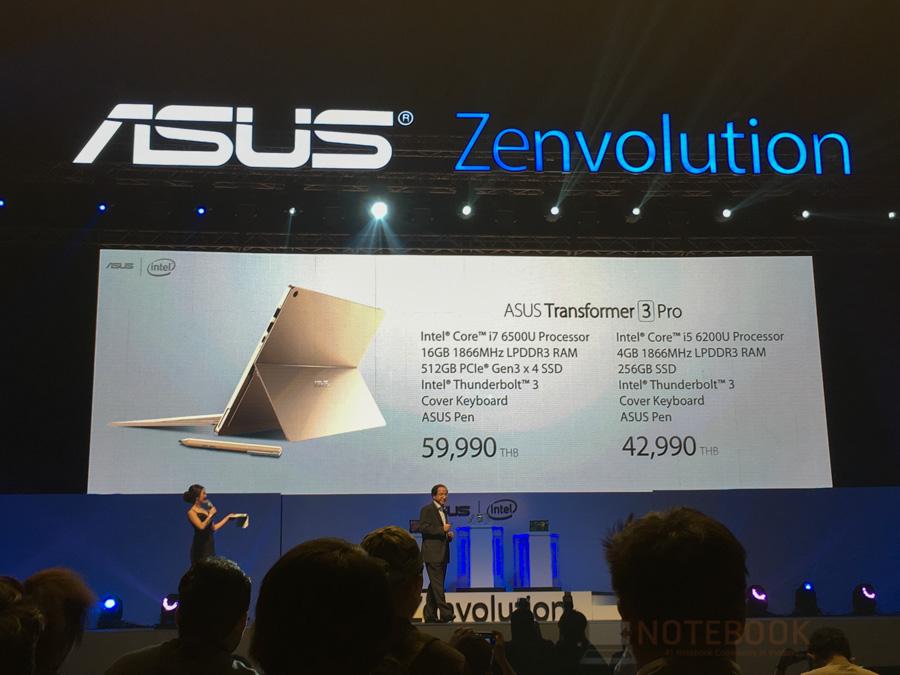 ASUS Zenfone 3, Zenbook 3 Lauch in Thailand-1