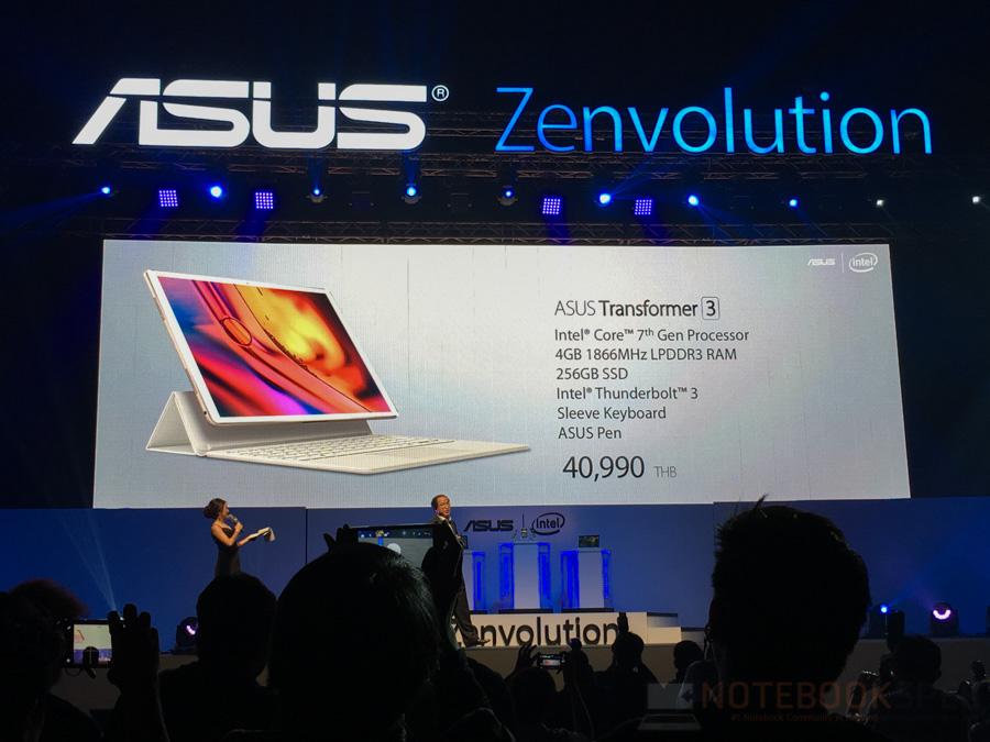 ASUS Zenfone 3, Zenbook 3 Lauch in Thailand-2