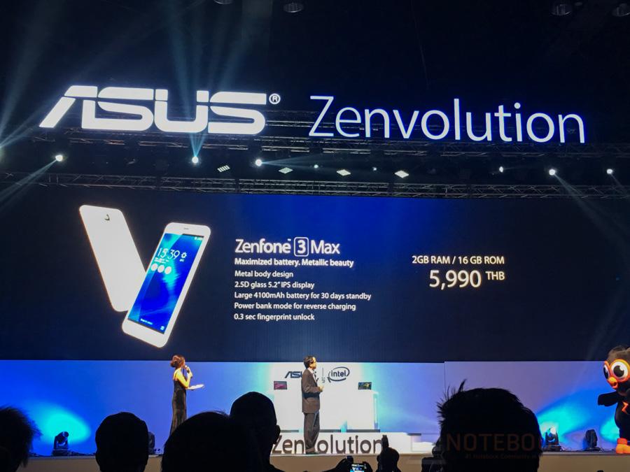 ASUS Zenfone 3, Zenbook 3 Lauch in Thailand-5