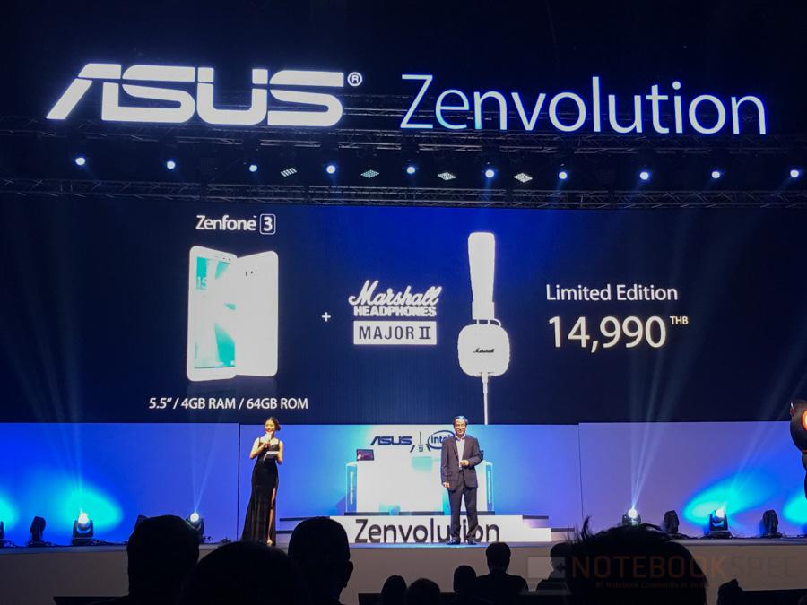 ASUS Zenfone 3, Zenbook 3 Lauch in Thailand-8