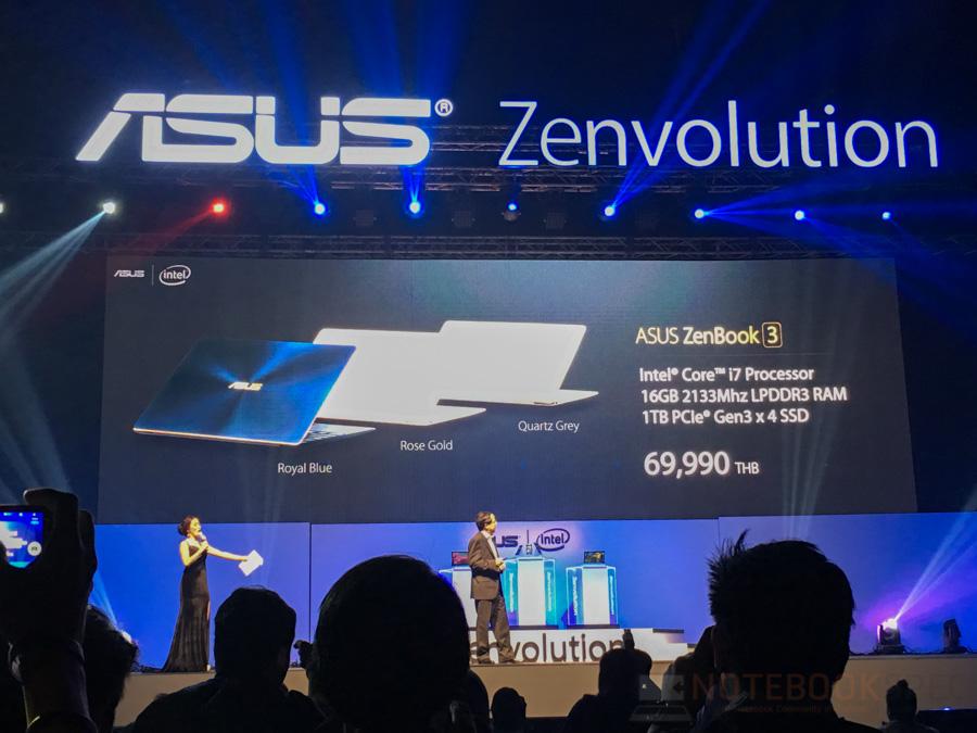 ASUS Zenfone 3, Zenbook 3 Lauch in Thailand-99