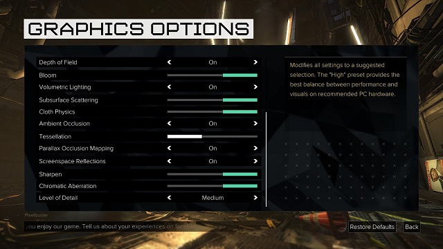 Deus Ex Mankind Divided PC Graphics Settings Here (3)