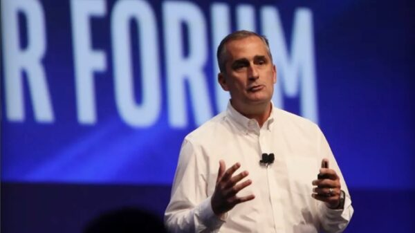 Intel CEO Brian Krzanich at the Intel Developer Forum 600 01