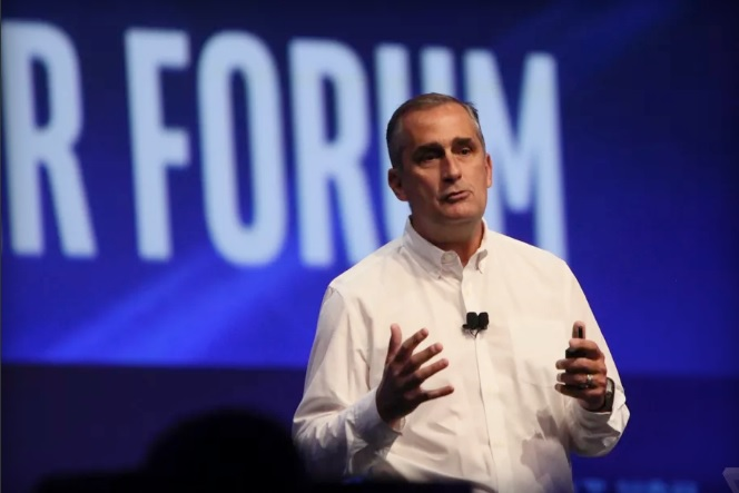 Intel CEO Brian Krzanich at the Intel Developer Forum 600 01