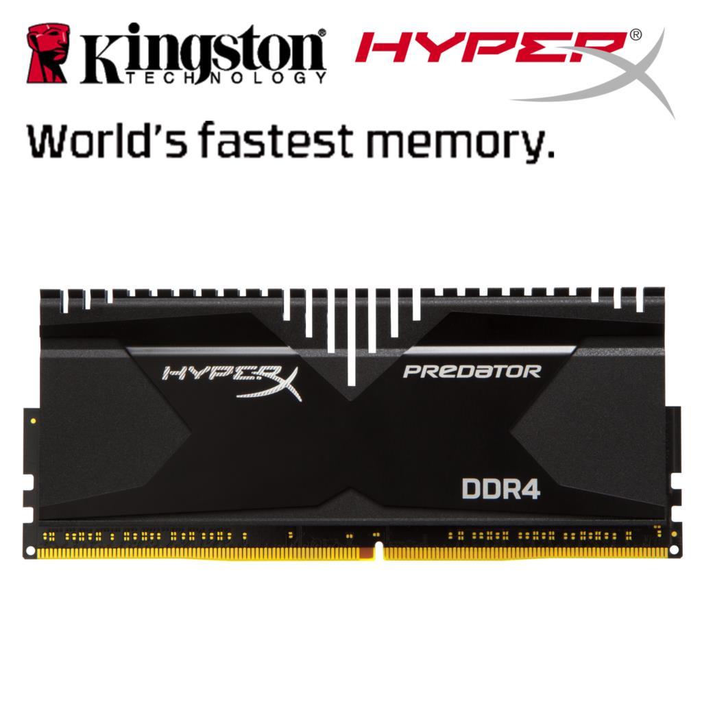 Kingston-HyperX-Predator-16GB-32GB-desktop-memory-ram-DDR4-2666MHz-CL13-288Pin-DIMM-memoria-ram-computer