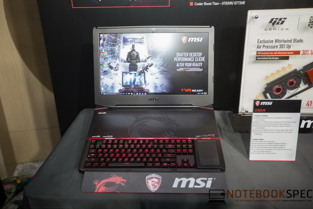 MSI Lauch Notebook NVIDIA GTX 10- Series 2016-14