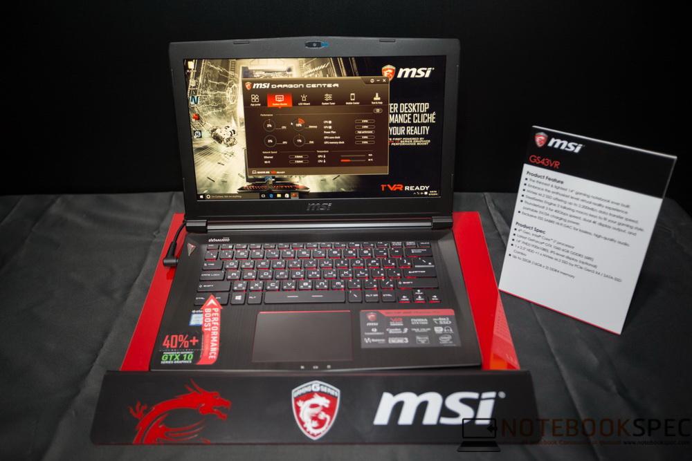 MSI Lauch Notebook NVIDIA GTX 10- Series 2016-8