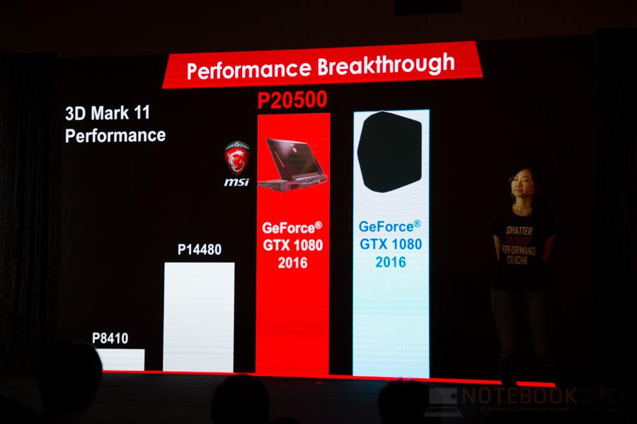 MSI Lauch Notebook NVIDIA GTX 10- Series 2016 NBS-41
