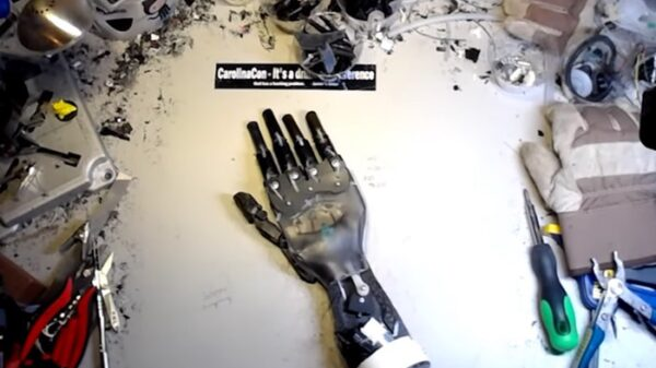 Robotic Hand From Coffee Machine