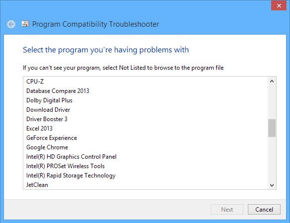 Run program compatibility mode-3