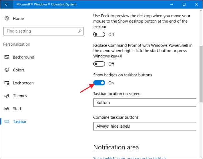 turn on-off-badge-taskbar (3)