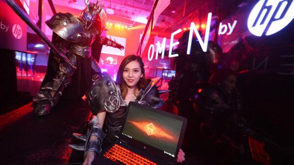 """แล็ปท็อป OMEN 17 กับ ตัวละครในเกมออนไลน์ยอดนิยม """"Heroes of the Storm"""" JPG"""