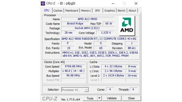 AMD A129800APUBRHWBOTOC 2