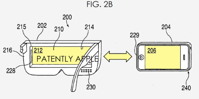 Apple have gained a patent for a VR headset 600 01