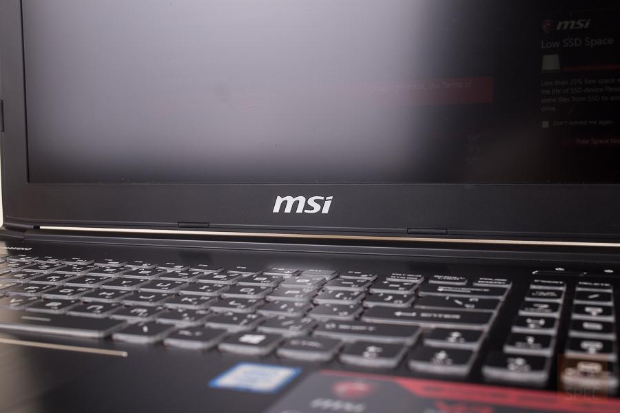 MSI GE62VR 20