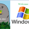 RIP windows Xp welcome windows 7