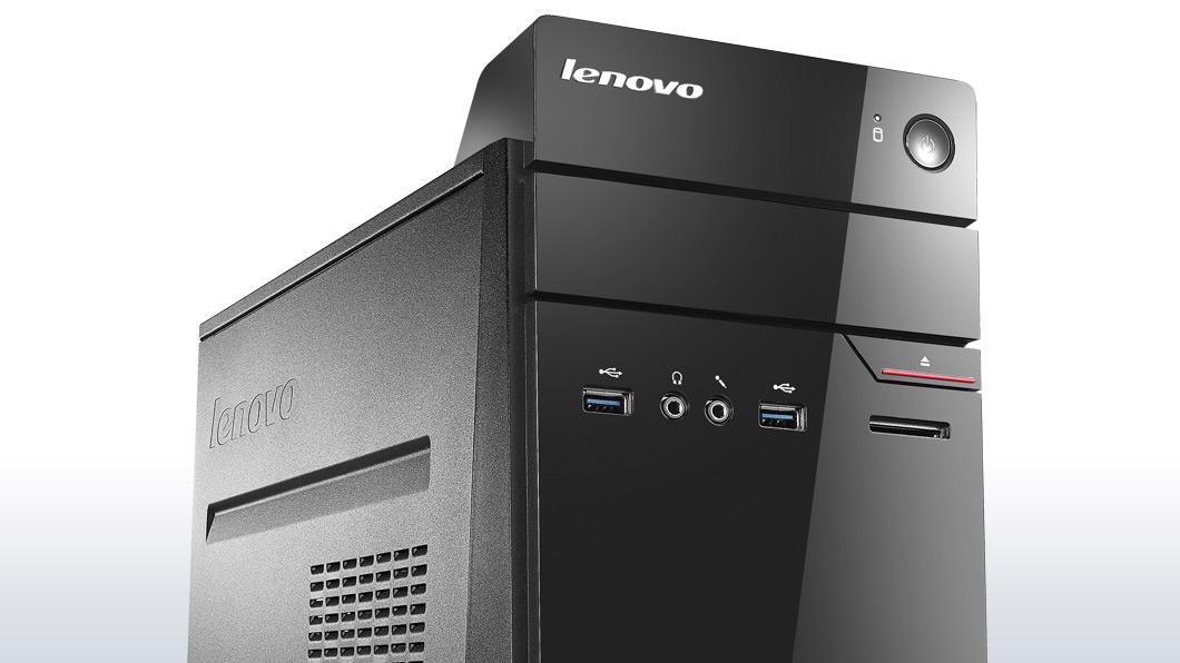 lenovo desktop s510 tower front side detail 3