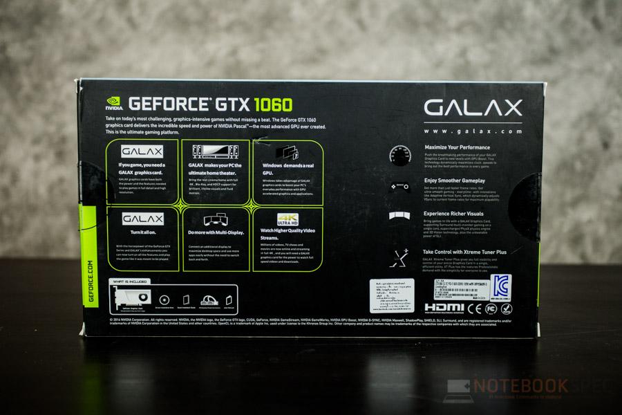 GALAX GTX1060 EXOC 2