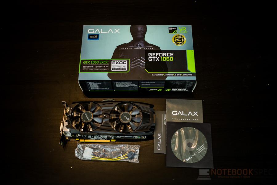 GALAX GTX1060 EXOC 4