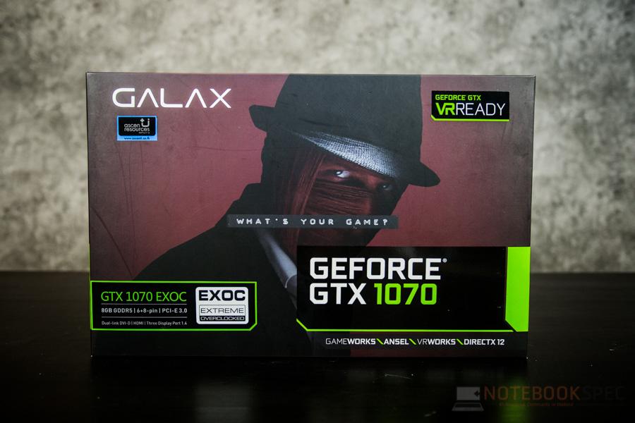 GALAX GTX1070 EXOC 2
