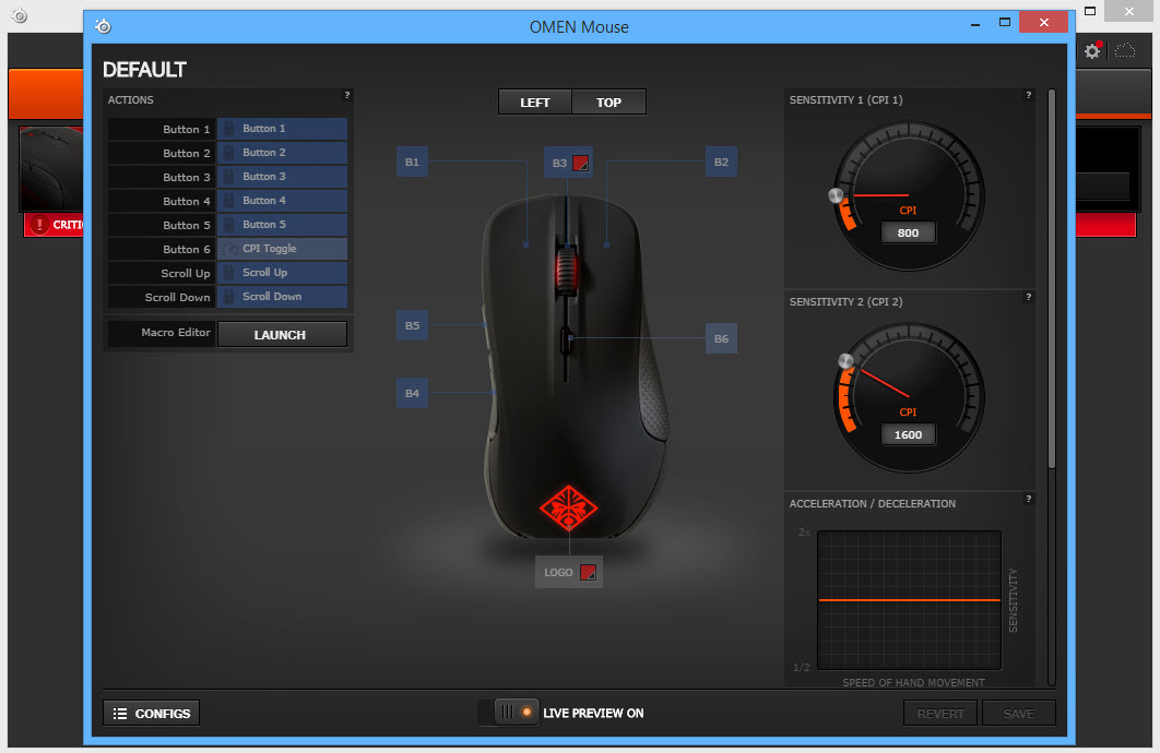 Review] HP OMEN mouse Steelseries เกมมิ่งเมาส์ ไฟสวย มาโคร