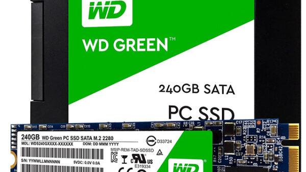 wdfWDGreenSSD 240GB