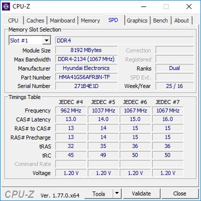 GE72VR CPUZ 5 1