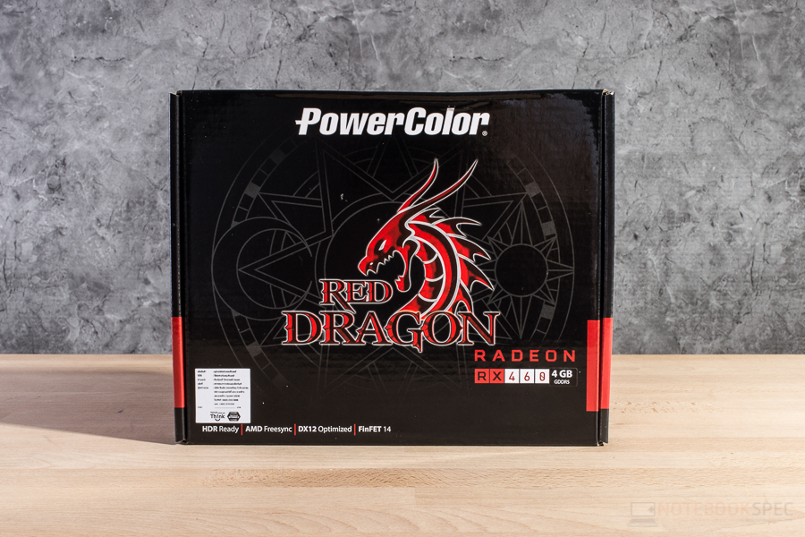 POWERCOLOR RED DRAGON RX 460 1