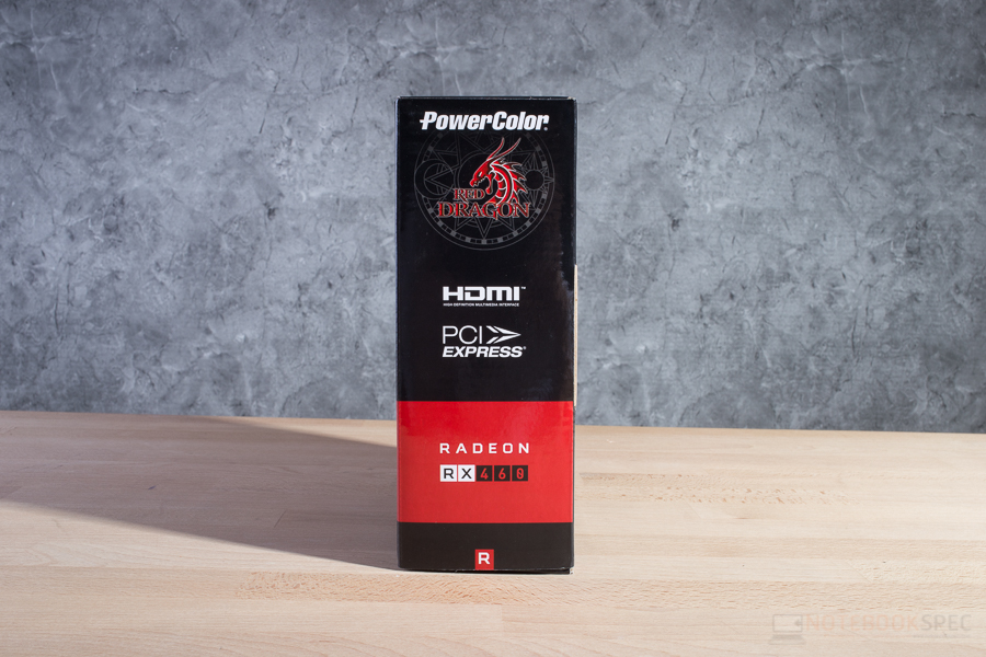 POWERCOLOR RED DRAGON RX 460 2