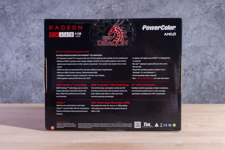 POWERCOLOR RED DRAGON RX 460 3