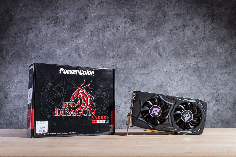 POWERCOLOR RED DRAGON RX 460 4