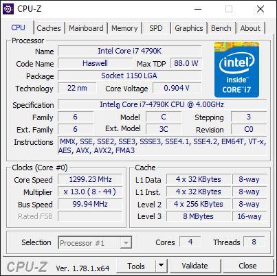 RX460 CPUZ1