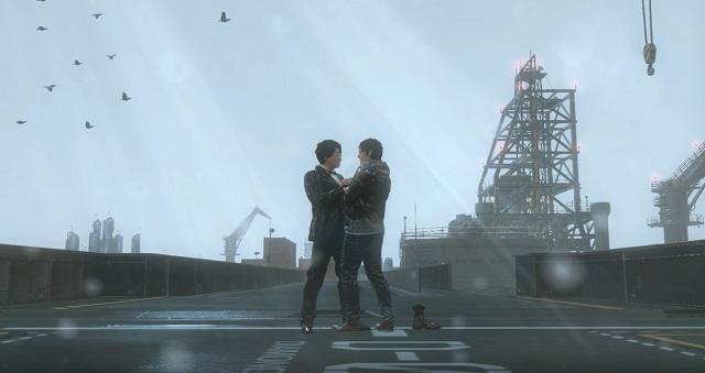 [Game Mod] Norman และ Kojima เต้นกลางสายฝนสุดโรแมนซ์ด้วย Mod เสริมใน Metal Gear Solid 5