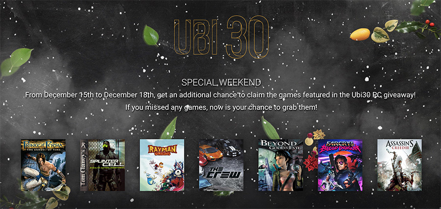 ubi30-special-weekend