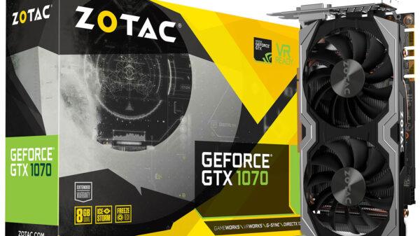 Zotac GeForce GTX 1070 Mini 600 04