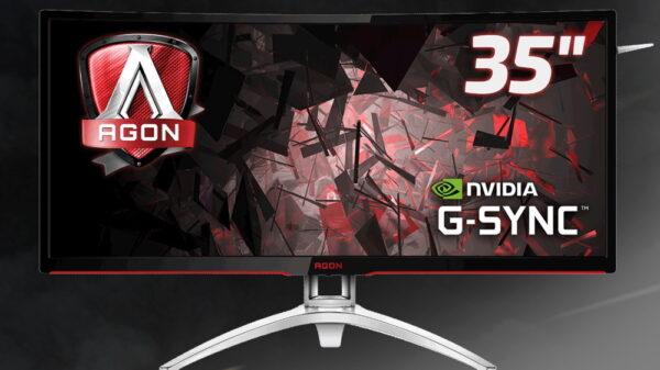 AOC Agon AG352UCG curved gaming monitor 600 01