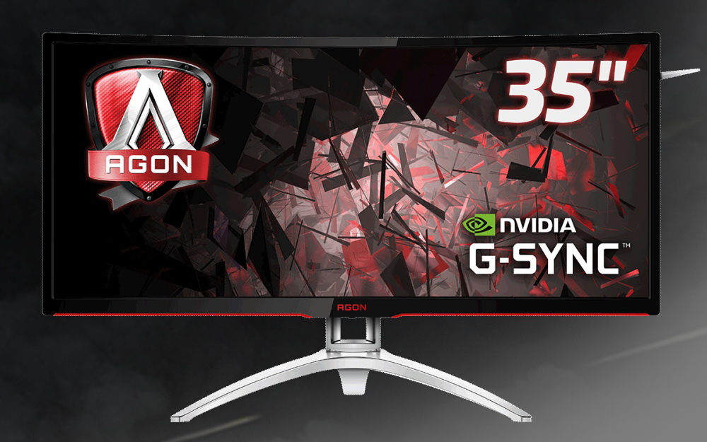 AOC Agon AG352UCG curved gaming monitor 600 01