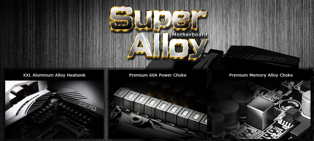 ASRock Z270 - SuperAlloy