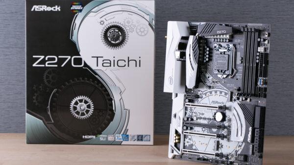 ASRock Z270 Taichi 4