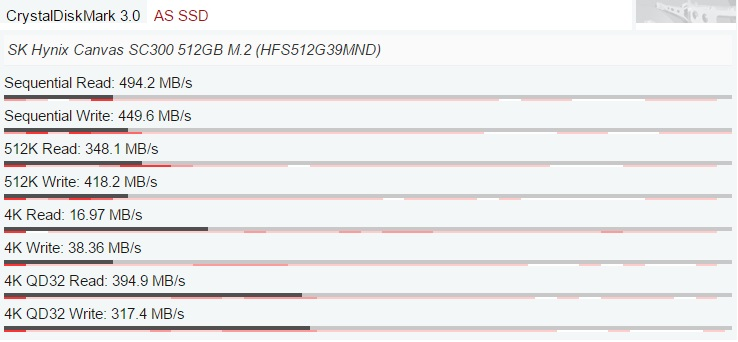 Acer Aspire VX5-591G-D0DD SSD test 600 02